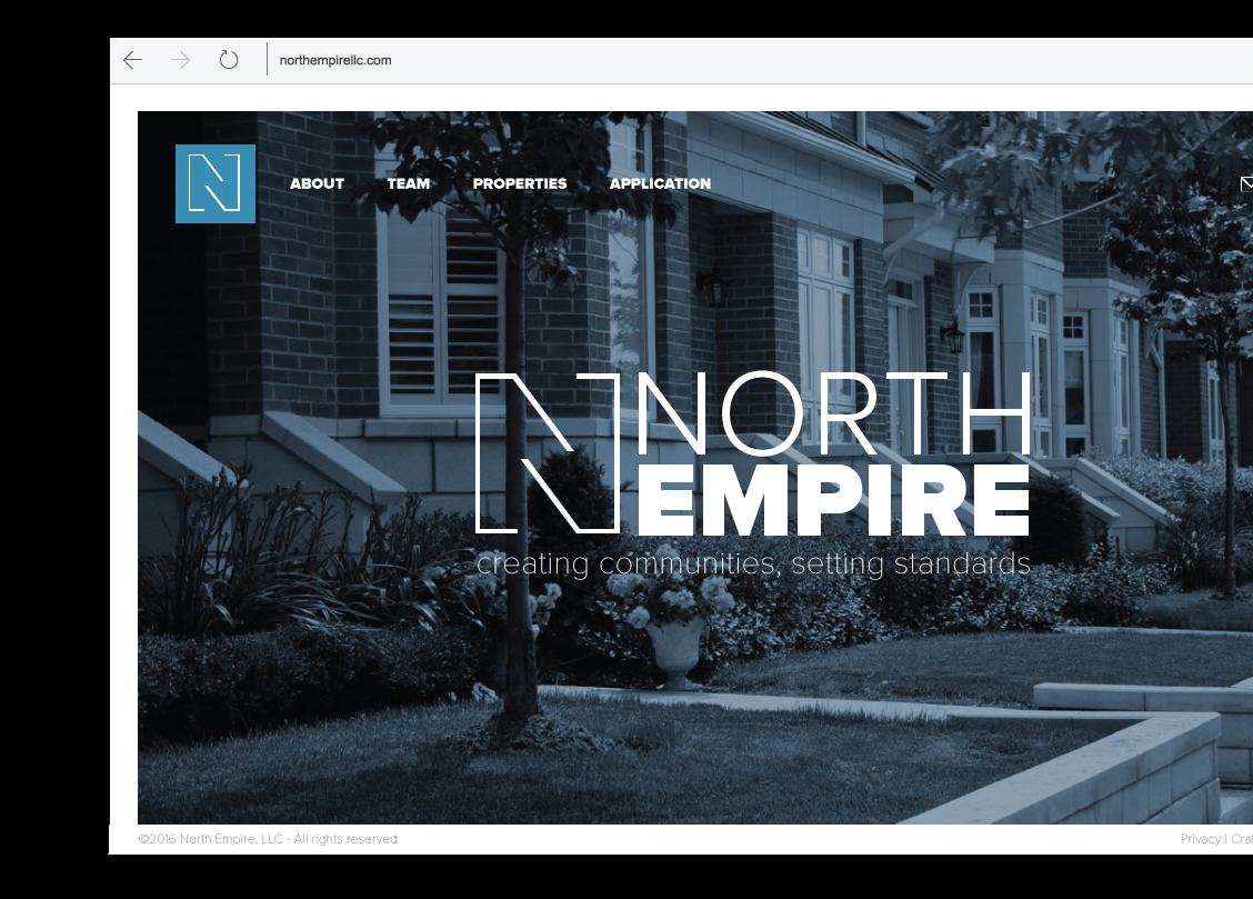 North Empire Website Design